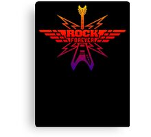 Rock Forever Guitar Canvas Print