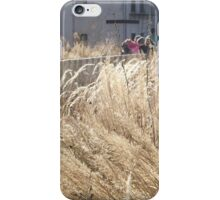 High Line, Winter View, New York City's Elevated Park and Garden  iPhone Case/Skin