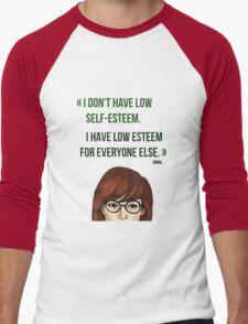 Daria quote Men's Baseball ¾ T-Shirt