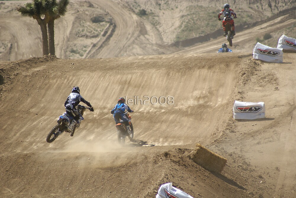 #240 MX Rider Stewart with another young man; Great Great Ride out here @ the Loretta Lynn's SW Area Qualifier Competitive Edge - Hesperia, CA,  USA (1057 Views 5/12/11) by leih2008