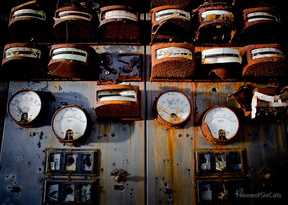 Wall of Gauges by HouseofSixCats