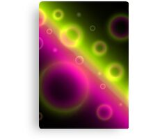 Bubbles Abstract Background Canvas Print