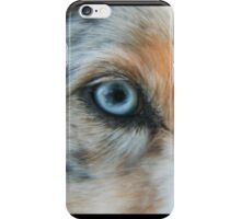 Australian Shepherd Blue Merle Eye iPhone Case/Skin
