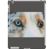 Australian Shepherd Blue Merle Eye iPad Case/Skin