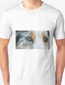 Australian Shepherd Blue Merle Eye Unisex T-Shirt