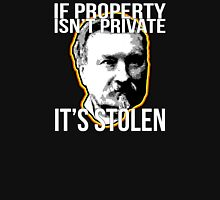 Gustave Molinari Anarchist Private Property Libertarian Unisex T-Shirt