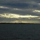 sunset on harvey bay by discodave