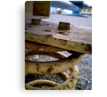 Crusty And Rusty Canvas Print