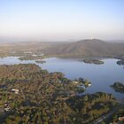 bird's eye view of canberra by discodave
