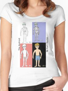 The Android- The Transformation Women's Fitted Scoop T-Shirt