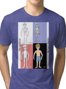 The Android- The Transformation Tri-blend T-Shirt