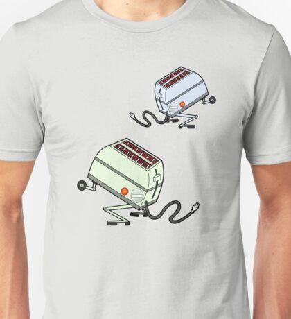 Toaster Rabbits Unisex T-Shirt