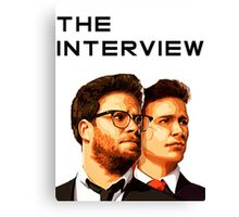The Interview Canvas Print