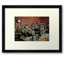 Compressions Of The Past Framed Print