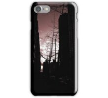 Red Sidewalk NYC iPhone Case/Skin