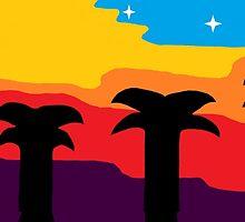 Palm Trio by AlexMichaels