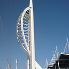 spinnaker tower5 by Richard Edwards