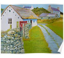 Manx Red Gate Poster