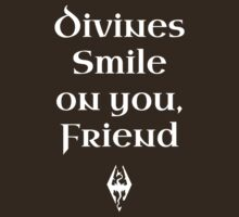 Divines Smile on You Friends by pietowel