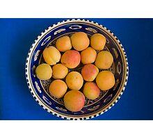 Apricots Photographic Print