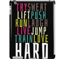 Live Hard iPad Case/Skin