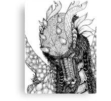 Dragons portrait Canvas Print