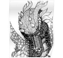 Dragons portrait Poster