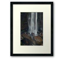 Water & Rock Framed Print