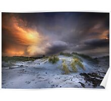 Arisaig Sunset Poster