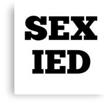 SEX IED Canvas Print