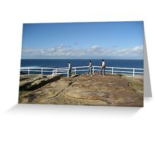 Coogee to Bondi Walk Greeting Card
