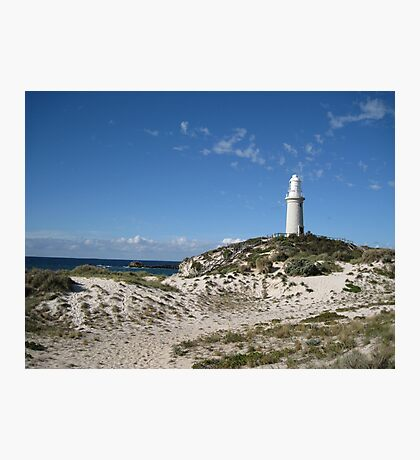 Lighthouse at  Rottnest Island - 2 Photographic Print