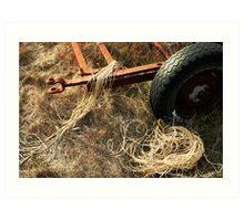 String Trail Art Print