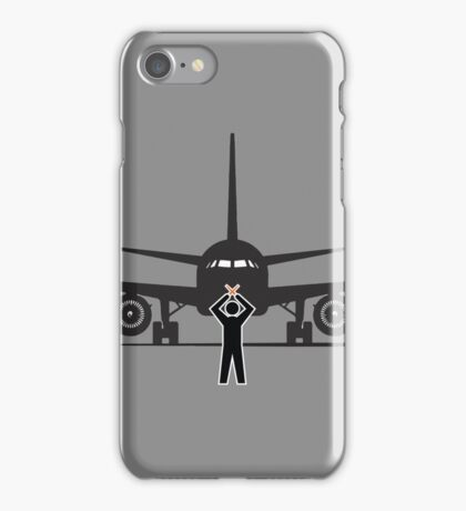 Airbus & Airplane Marshaller iPhone Case/Skin
