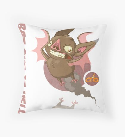Bat Out of Hell Throw Pillow