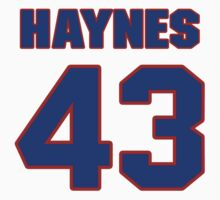National baseball player Jimmy Haynes jersey 43 by imsport