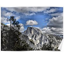 Half Dome with a Crown Poster