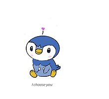 I choose you- piplup by ducksoft