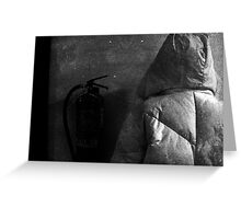 THE LAST MINUTES ON EARTH Greeting Card
