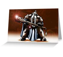 Dwarf Warrior Greeting Card