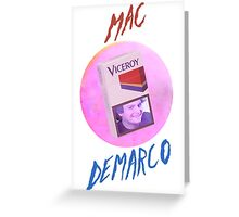 Mac Demarco - The Viceroy smile Greeting Card