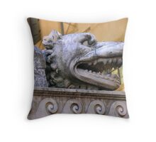 Florence Fountain Throw Pillow