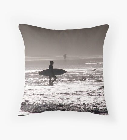strolling in........ Throw Pillow