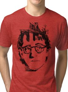 Woody Allen's Manhattan Tri-blend T-Shirt