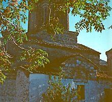 Early Byzantine Church, Ochrid, Macedonia by Priscilla Turner