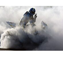Cal Crutchlow Victory Burnout Photographic Print