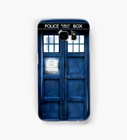 Doctor Who Tardis Phone Case Samsung Galaxy Case/Skin