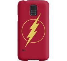 Simple Design Flash Bolt - Gold Samsung Galaxy Case/Skin