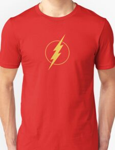 Simple Design Flash Bolt - Gold T-Shirt