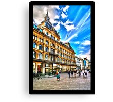 Magasin Du Nord department store, Copenhagen, by Tim Constable Canvas Print